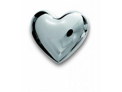 Hrající  srdce ocel 7 cm SOUND HEART