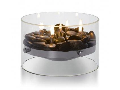 Olejová lampa - stolní krb FIRE