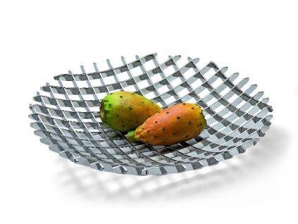 Designová mísa na ovoce 30 cm nerez Grip - P176001
