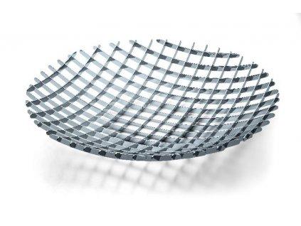 Designová mísa na ovoce 50 cm nerez Grip - P176002