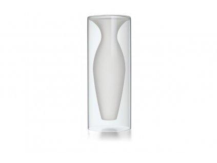 Skleněná váza 32 cm ESMERALDA