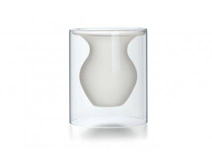 Skleněná váza 15,5 cm ESMERALDA