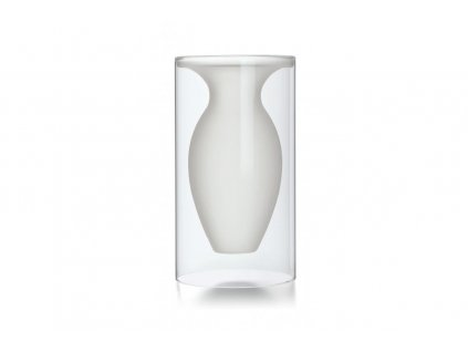 Skleněná váza 23,5 cm ESMERALDA