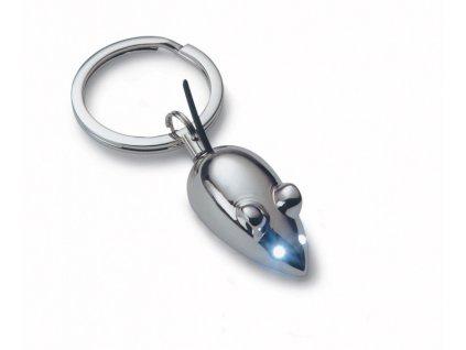 Přívěšek na klíče s myškou - svítící - P195145