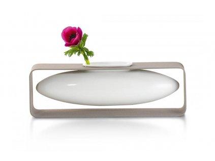 Váza ovál FLOAT 8 cm