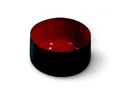 Miska barevná 10 cm, červená