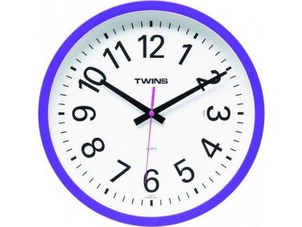 Nástěnné designové hodiny 10510 blue
