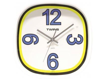 Nástěnné designové hodiny 10511 blue