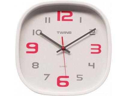Nástěnné designové hodiny 10513 white