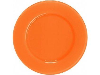 Barevný skleněný talíř Papaya 04 - 25 cm