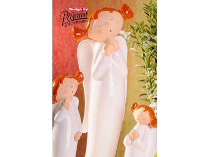 Anděl culíkatý Lucy 39 cm - Paramit - 4107-39