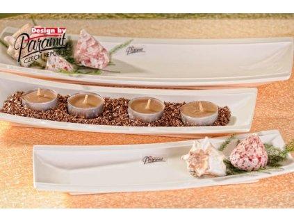 Merry talíř obdélníkový bílý 31 cm - Paramit - 20-31W