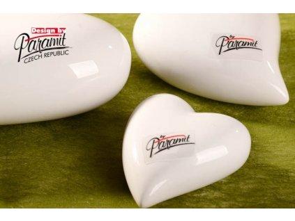 Srdíčko bílé 7 cm - Paramit - 11055-7