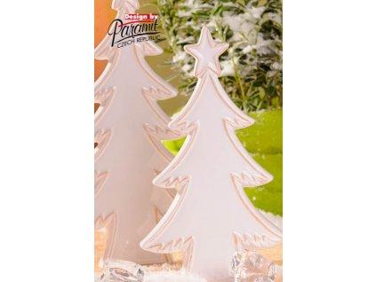 Zasněžený stromeček 24 cm - Paramit
