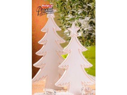 Zasněžený stromeček 33 cm - Paramit