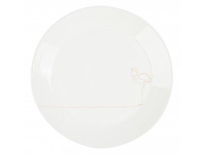Mělký jídelní talíř 26,5 cm - FLAMINGO - by inspire - 8133-00-31