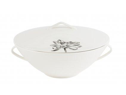 Mísa na polévku s pokličkou 2,5 l - FLEUR - by inspire - 8141-00-37