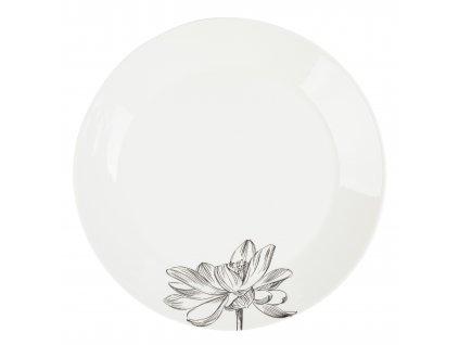 Jídelní talíř 26,5 cm - FLEUR - by isnpire - 8133-00-37