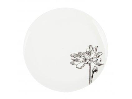Dezertní talíř 21 cm - FLEUR - by inspire - 8132-00-37