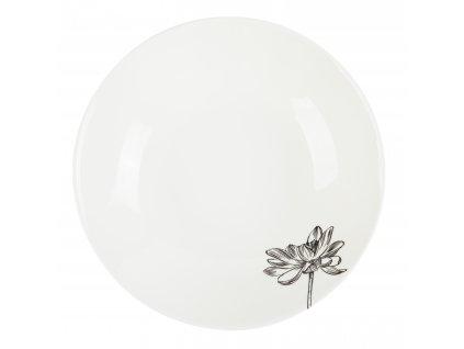 Polévkový talíř 21 cm - FLEUR - by inspire - 8131-00-37