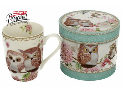 Owls porcelánový hrnek 300 ml Paramit H54