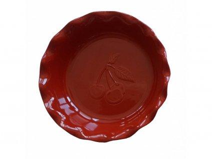 Emile Henry kolacova forma tresen cervena
