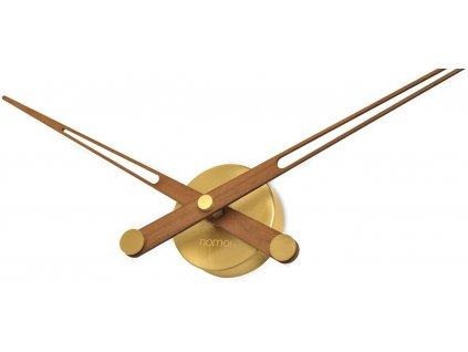 Designové nástěnné hodiny AxiomaNG Gold 105cm