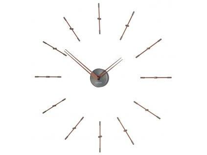 Designové nástěnné hodiny Merlin Graphite Small 70cm
