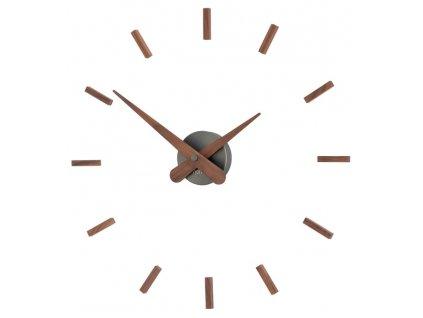 Designové nástěnné hodiny Sunset Graphite 50cm