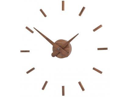 Designové nástěnné hodiny Sunset Wood 50cm