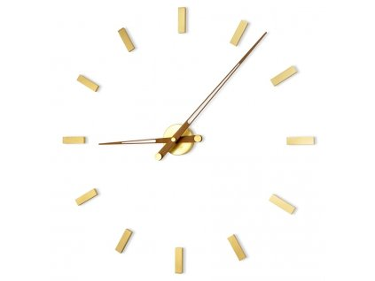 Designové nástěnné hodiny Tacon 12N Gold 100cm