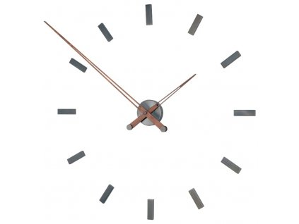 Designové nástěnné hodiny Tacon Graphite 100cm