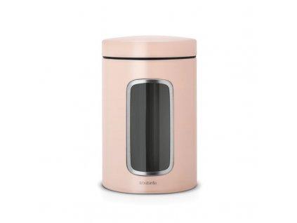Dóza 1,4 l s okénkem - růžový jíl