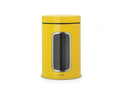 Dóza 1,4 l s okénkem - kopretinově žlutá
