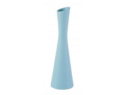 Váza X 8x30 cm - modrá