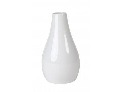Váza Drop 15x15x26 cm - bílá