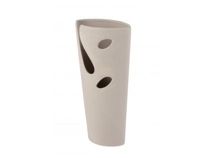 Váza Hole 13x7x27cm - hnědá