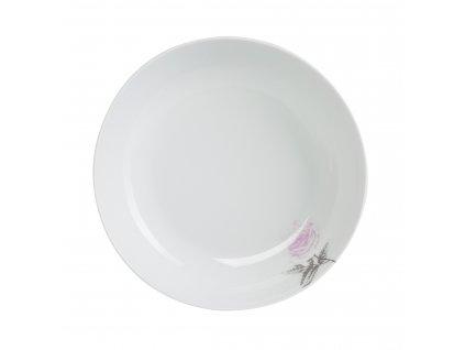 Polévkový talíř 20 cm WHITE ROSE od by inspire 7639-00-30