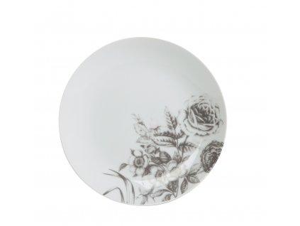Dezertní talíř 20 cm WHITE ROSE od by inspire 7640-00-30