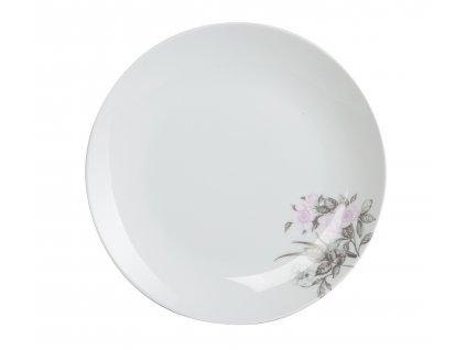 Jídelní talíř 27 cm - ROSE WHITE od by inspire 7641-00-30