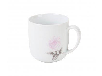 Hrnek na čaj 250 ml WHITE ROSE od by inspire 7685-00-30