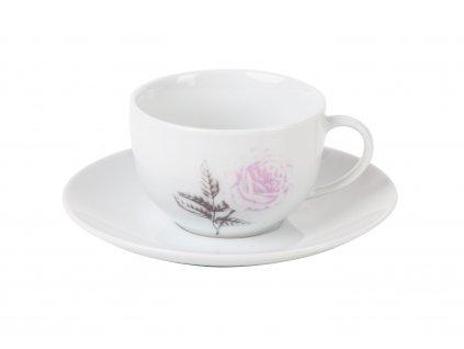Kávový šálek 150 ml ROSE WHITE od by inspire 7686-00-30