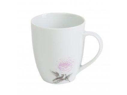 Hrnek na kávu o objemu 350 ml ROSE WHITE od by inspire 7687-00-30