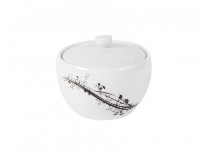 Cukřenka 200 ml z kolekce porcelánu BLACK od by inspire 7403-00-02