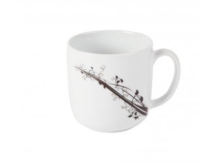 Hrnek 350 ml na čaj nebo kávu z kolekce porcelánu BLACK od by inspire 7685-00-02