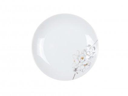 Dezertní talíř z kolekce porcelánu TWIG od by inspire 7640-00-28