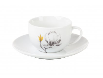 Kávový šálek s podšálkem TWIG od by inspire 7686-00-28