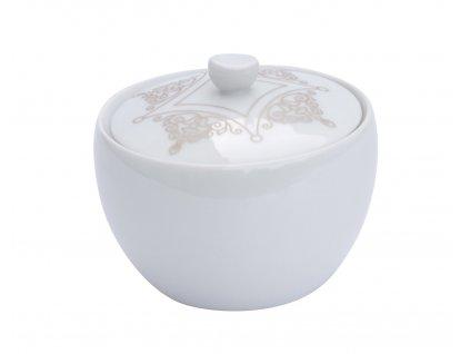Porcelánová cukřenka 200 ml - BAROKO