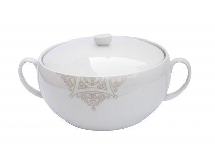 Porcelánová mísa na polévku Baroko od by inspire