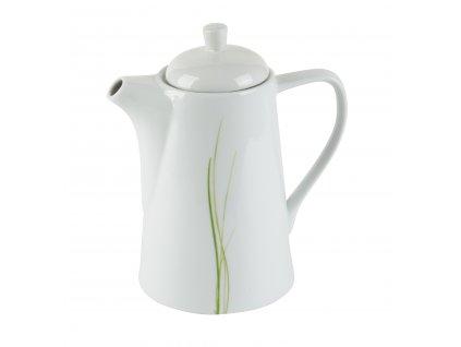 Porcelánová konvice na kávu z kolekce Grass